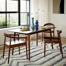 lena mid century dining table west elm au