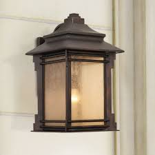 franklin iron works hickory point 16 high outdoor light wall porch lights com