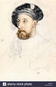 sketch by hans holbein the younger sir nicholas carew 1527 8