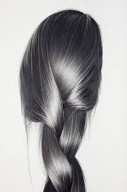 realistic pencil drawings shiny hair it takes a lot of skill to