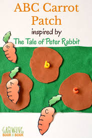 tale peter rabbit abc carrot patch