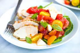 good chicken caprese salad recipe