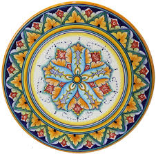 ceramic cheese plate majolica ceramic cheese plate