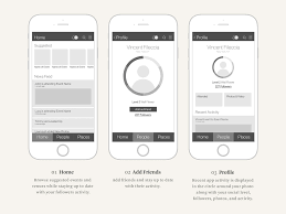 Home Design App Add Friends by Get Out Professor Ux