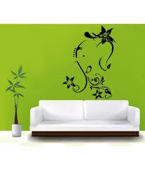 hoopoe decor lord ganesha with flowers wall sticker buy hoopoe hoopoe decor lord ganesha with flowers wall sticker