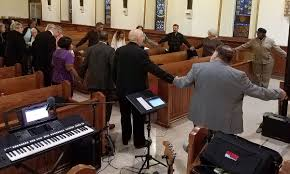 ministerium offers prayers for city during thanksgiving service