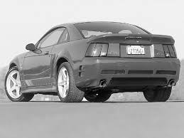 2001 Black Mustang 2001 Saleen Mustang Supercharged S281 Supercharged Saleen