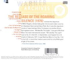 Manfred Mann Earth Band Blinded By The Light Lyrics The Best Of Manfred Mann U0027s Earth Band Manfred Mann U0027s Earth Band