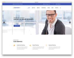 17 best financial company wordpress themes 2017 colorlib