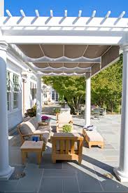 Thomas Awning Poolside Pergola Traditional Patio Baltimore By Melville