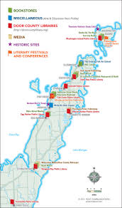 Door County Wisconsin Map by Maps U2013 Door County Today