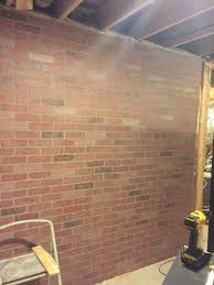 interior wall paneling home depot brick facing for interior walls how to create a faux brick wall