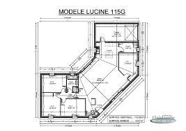 plan de maison plain pied 5 chambres superbe plan maison en v plain pied gratuit 4 maison de plain pied