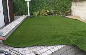 Fake Grass For Patio How To Lay Artificial Grass On Concrete My Gardening Network