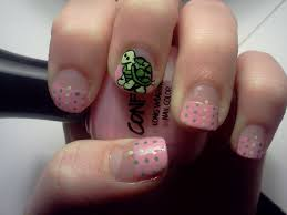 turtle nail design an animal nail nail painting on cut out keep