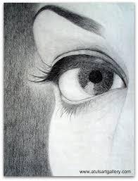 pencil sketch atuls art gallery blog archive eye 518x681 111161