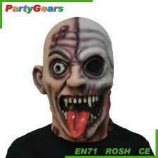 sale latex glowing vampire halloween horror party mask buy