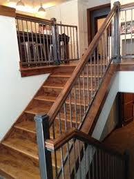 minneapolis wrought iron spindles staircase traditional with