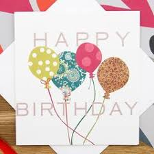 birthday cards for him images balloons happy birthday card not another bunch of flowers