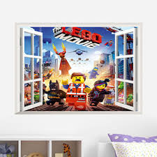 online get cheap children wall stickers lego aliexpress com free shipping creative removable children bedroom decor kids wall stickers lego