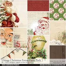vintage extras paper pack pertiet papers