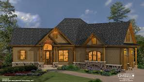 mill spring cottage house plan cabin plans southern craftsman