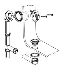Bathtub Overflow Drain Gasket Installing A Bathtub Plumbing Help