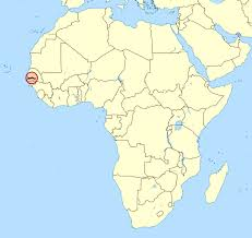 africa map gambia detailed location map of gambia in africa gambia africa