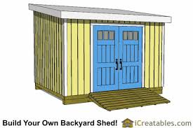 Diy Lean To Storage Shed Plans by 10x12 Lean To Shed Plans Icreatables Com