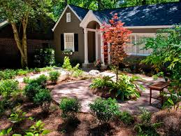 In Front Yard - front garden landscaping ideas i yard pertaining to modern house