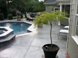 Concrete Pool Designs Ideas Concrete Pool Deck Pictures Decorative Concrete Pool Deck Ideas