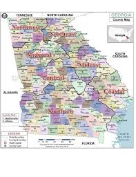 County Map Ga Gcca Regional Map U2013 Georgia College Counseling Association Gcca
