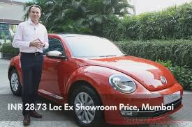 light pink volkswagen beetle new vw beetle launch price inr 28 73 lakh