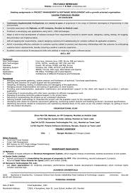 Resume Format Sample Resume by It Resume Templates Zuffli