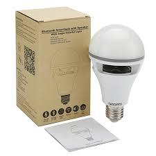 led light bulb speaker light bulb speaker via app controlled