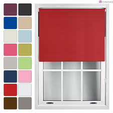 thermal blackout roller blinds custom size up to 240cm easy fit