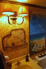 Tropical Themed Bathroom Ideas Hawaiian Beach Themed Mural By Tom Taylor Of Wow Effects Painted