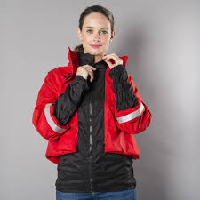 cycling jacket red georgia in dublin bronte jacket red cyclechic cyclechic