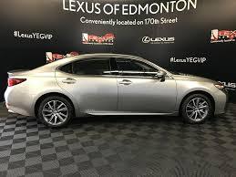 lexus new 2018 new 2018 lexus es 300h 4 door car in edmonton ab l13941