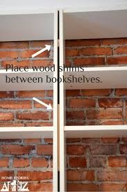 Billy Bookcase Hack Built In Ikea Hack Billy Built In Bookshelves Part 1 Billy Bookcase