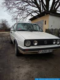 volkswagen golf 1987 volkswagen golf 2 1987 бензин механика купить в беларуси цена