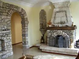 stone veneer over brick fireplace cost resurfacing with tile