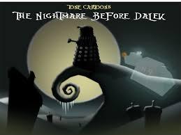 Nightmare Before Christmas Meme - the nightmare before dalek the nightmare before christmas know