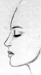 side on face reference sketch google search cizim pinterest