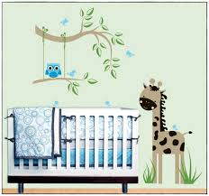 stickers savane chambre bébé stickers chambre garcon