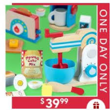Deluxe Kitchen Play Set by Melissa U0026 Doug Deluxe Kitchen Appliance Play Set Only 29 99