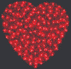 valentines day lights s day decorations for cities businesses and parks