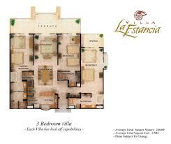 3 Bedroom Villa Floor Plans by Residences Close Up From Villa La Estanca Riviera Nayarit Villa