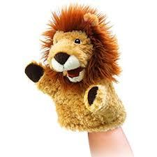 lion puppet folkmanis lion puppet toys