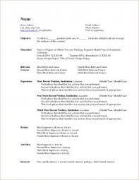 blank resume templates for teens exles of resumes resume sle headline pertaining to good